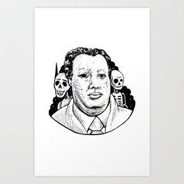 El Panzón / Diego Rivera Art Print