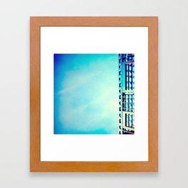 On the side Framed Art Print