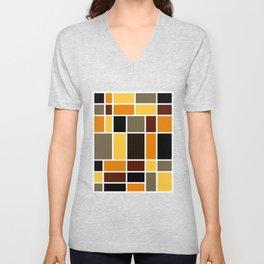 Mondrian #72 Unisex V-Neck