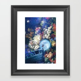 Sailing the Milky Way Framed Art Print