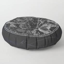 NY, Constellations Floor Pillow