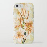 vintage floral iPhone & iPod Cases featuring Vintage Floral by Colorful Art