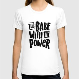 Labyrinth // The babe with the power T-shirt