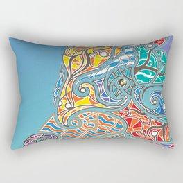 Bright Bear Rectangular Pillow