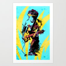 Soundcheck Art Print