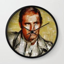 Charlton Heston by MB Wall Clock