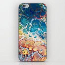 Turquiose marble iPhone Skin