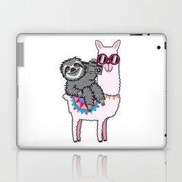 Sloth Music Llama Laptop & iPad Skin