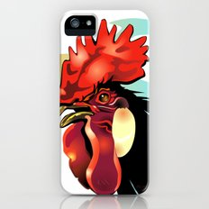 My Friends 1 - Andalusian Rooster Slim Case iPhone (5, 5s)