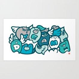 夢 - DREAM Art Print