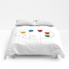 Artist's chocolate Comforters