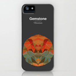 Gemstone - Vibranium iPhone Case