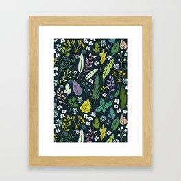 Herbal dream Framed Art Print