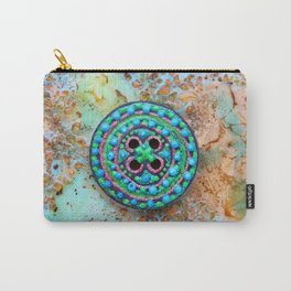 Button for happiness Carry-All Pouch