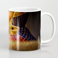 egypt Mugs featuring Egypt by Marcus Meisler