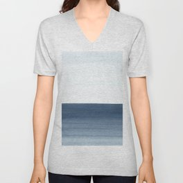 Ocean Watercolor Painting No.1 Unisex V-Neck