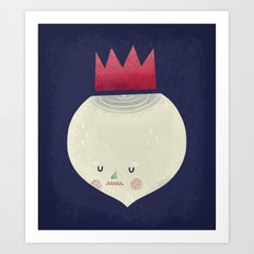 king onion.  Art Print