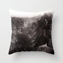 Half Dome, Yosemite Valley, California Throw Pillow