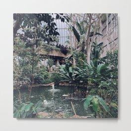 Barbican Conservatory Metal Print