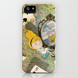 falling down iPhone Case
