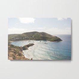 Antigua- Fine art print- Travel photography- Caribbean  Metal Print