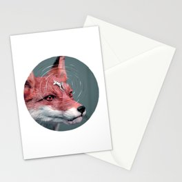 Foxy rider - A re-visit Stationery Cards