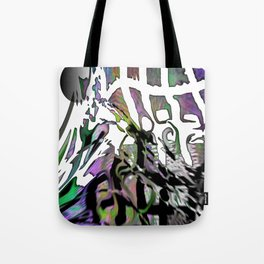 Distortion of the line Tote Bag