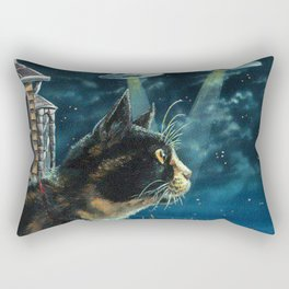 Alien Invasion Rectangular Pillow