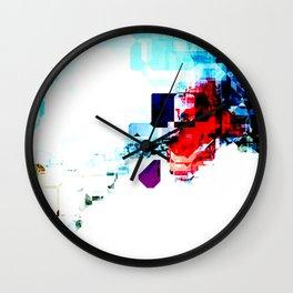 Techno Blitz Wall Clock