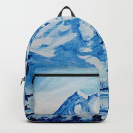 Winter Mt. Rainier Backpack