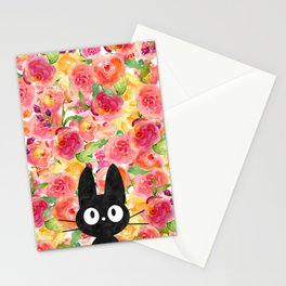 Jiji in Bloom Stationery Cards