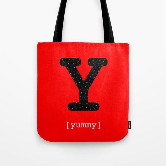 #Y [yummy] Tote Bag