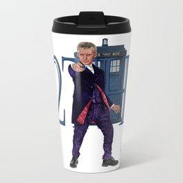 12th Doctor Metal Travel Mug