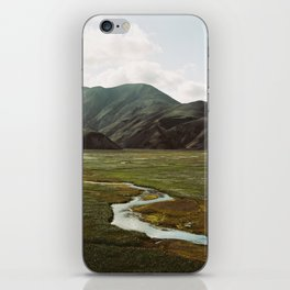 Iceland - Landmannalaugar (Pentax 67 & Kodak film) iPhone Skin