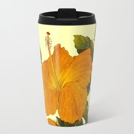 Hibiscus ; Beautiful Flower Print Travel Mug