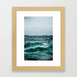 Open Water Framed Art Print