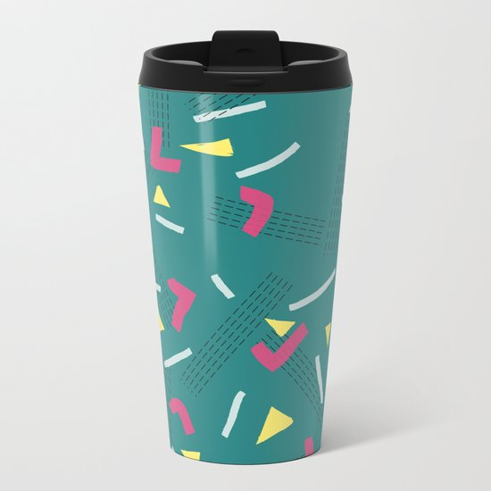 Funny Scribbles #society6 #decor #buyart Metal Travel Mug
