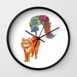 Classy Cat Chloe Wall Clock