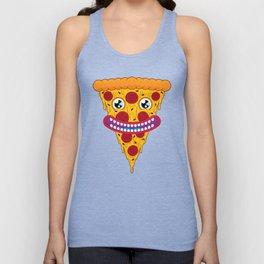 Pizza Face Unisex Tank Top