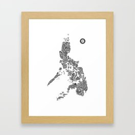 Paranormal Philippines (white) Framed Art Print