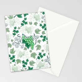 Bunches of grapes Stationery Cards