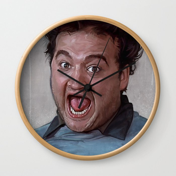 Food Fight - Animal House Wall Clock