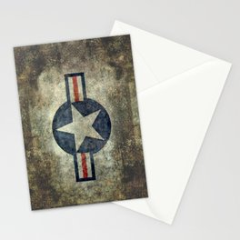 US Airforce style Roundel insignia V2 Stationery Cards