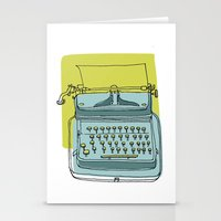 write Stationery Cards featuring Write! by Phillip Wells