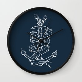 You are an anchor Wall Clock