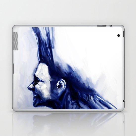 Blue Hawk Laptop & iPad Skin