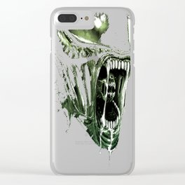 Lurking since 1979 - Green Clear iPhone Case
