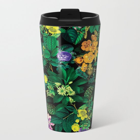 Future Nature II Metal Travel Mug