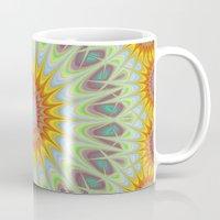 sun Mugs featuring Sun by David Zydd
