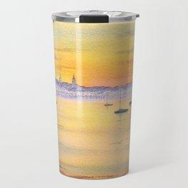 Impressions Of Provincetown Cape Cod USA Travel Mug